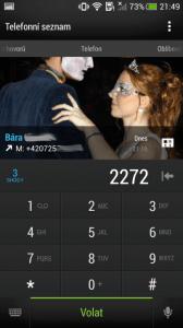 HTC One mini - dialer2