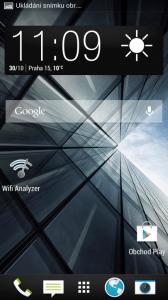 HTC One mini - domovská obrazovka