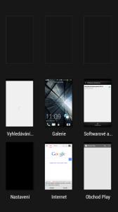 HTC One mini - Správce úloh