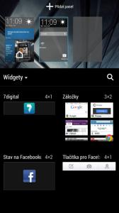 HTC One mini - widgety