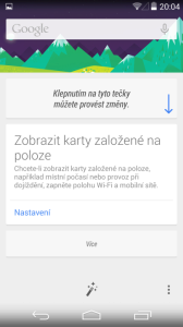 LG Nexus 5 Google Now 2