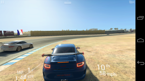 LG Nexus 5 Real Racing 3