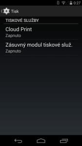 Nexus 5 cloudprint