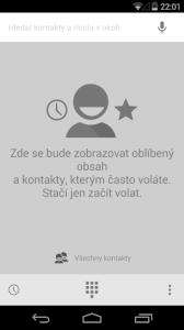 Nexus 5 kontakty