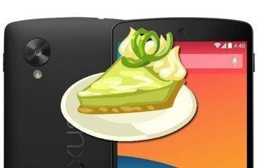 Šťastlivec koupil Nexus 5 s Androidem Key Lime Pie