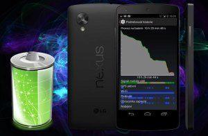 Nexus 5 – výdrž baterie v podrobném testu