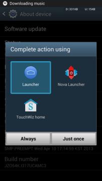 Launcher z Androidu 4.4 KitKat