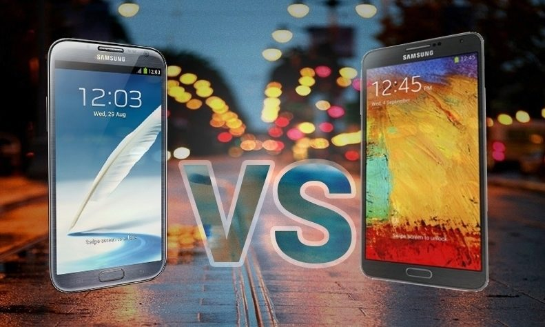 note 2 vs note 3
