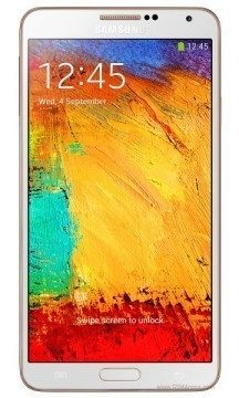 Note 3 gold