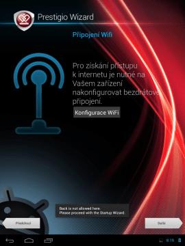 Připojení k bezdrátové síti