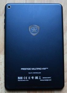 Zadní strana tabletu Prestigio MultiPad 4 Quantum 7.85