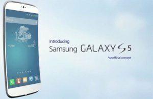Koncept Samsungu Galaxy S5