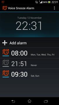 voice snooze alarm 1