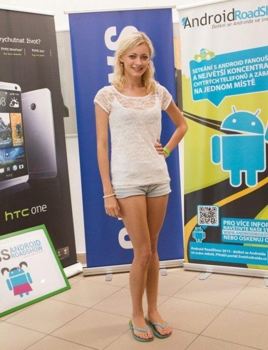Miss Android RoadShow Tereza Kudláčková