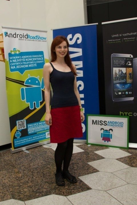 Miss Android RoadShow Zuzana Jánošová