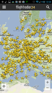 Provoz nad Evropou