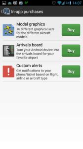 Nákupy v aplikaci