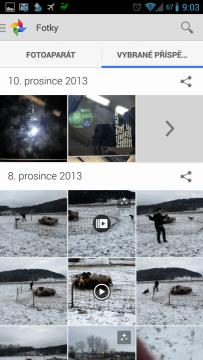 Aplikace Fotky