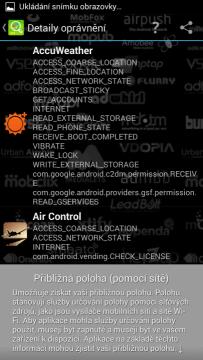 Addons Detector - seznam aplikací s přístupem k poloze