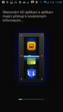 IObit Advanced Mobile Care - skenování aplikací