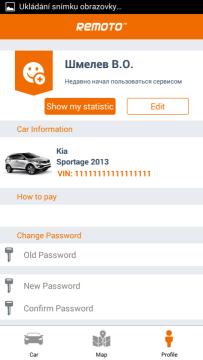 Mobilní aplikace Remoto