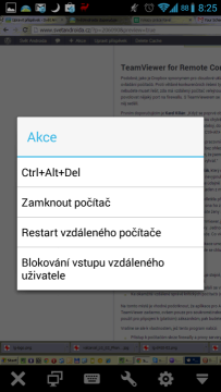 TeamViewer for Remote Control: funkce