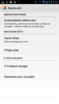 Google+: nastavení