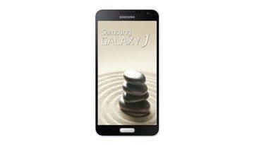 Samsung Galaxy J - bílý