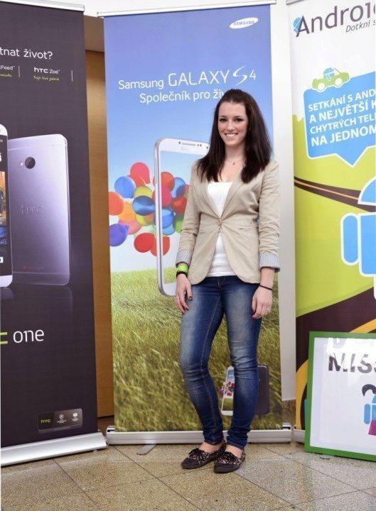 Miss Android RoadShow Petra Ambrozková