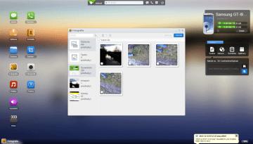 AirDroid: galerie v prohlížeči