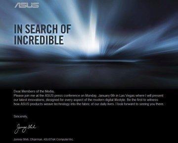Pozvánka od firmy Asus