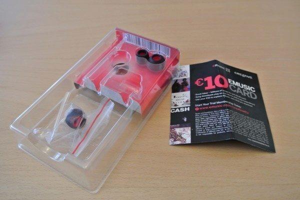Creative HITZ MA350 - obsah balení