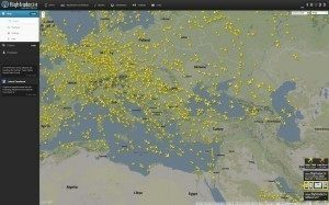 Zdrojem veškerých informací a dat je webová stránka flightradar24.com