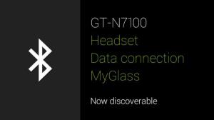 Google Glass nastaveni