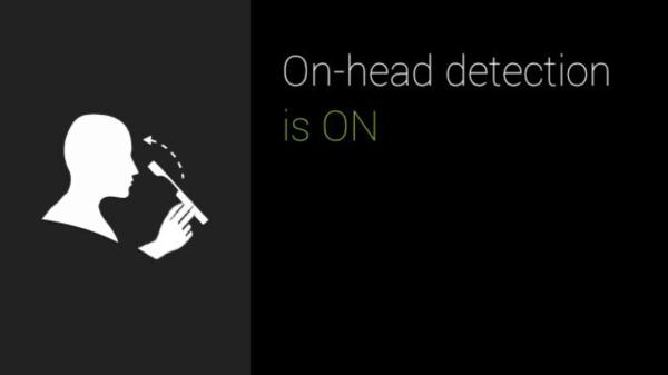 Google Glass nastaveni detekce
