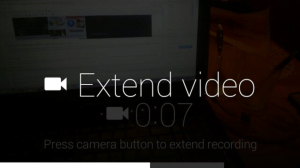 Google Glass prodlouzeni videa