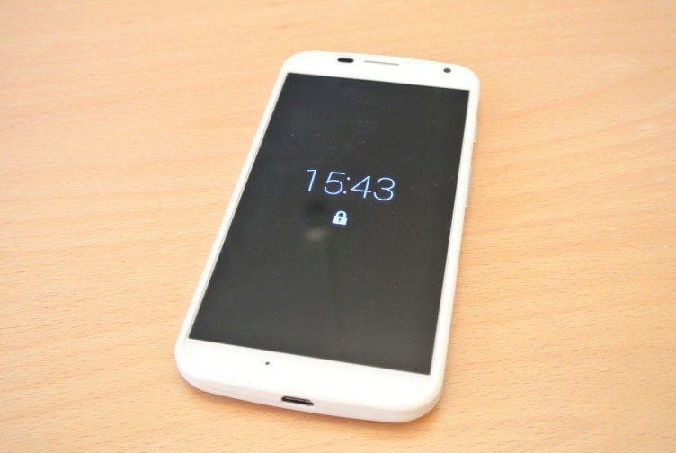 Motorola Moto X - Active display
