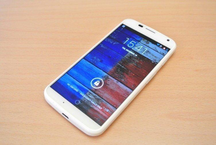 Motorola Moto X - display