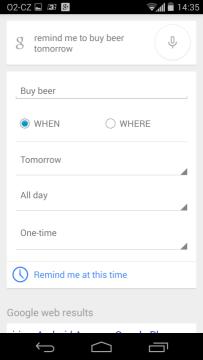 Motorola Moto X - Google Now 1