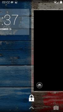 Motorola Moto X - Locksreen + fotoaparát