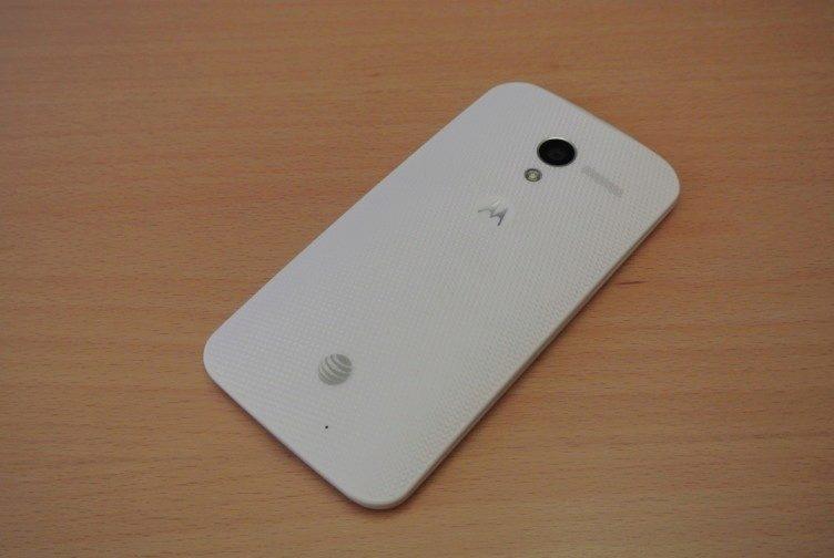 Motorola Moto X - záda