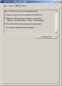 Test fungování ovladačů