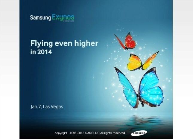 Samsung Exynos Teaser CES 2014