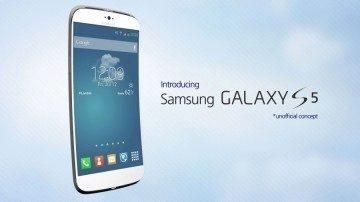 Jeden z konceptů Samsungu Galaxy S5