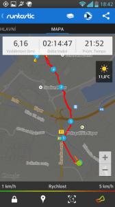 Runtastic - mapa