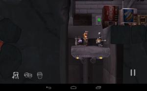 The cave výtah