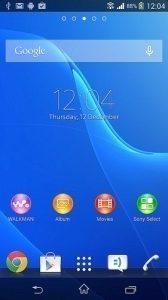 Snímek z Androidu 4.3 pro Xperii Z/ZL