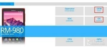 Nokia Normandy zachycena v benchmarku Browsermark 2.0