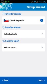 Sochi 2014 WOW: výběr země, sportovců a sportů