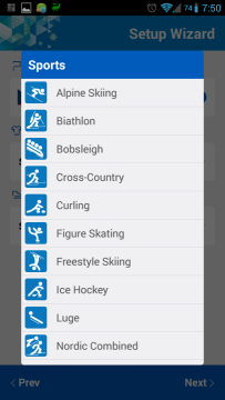 Sochi 2014 WOW: výběr sportů